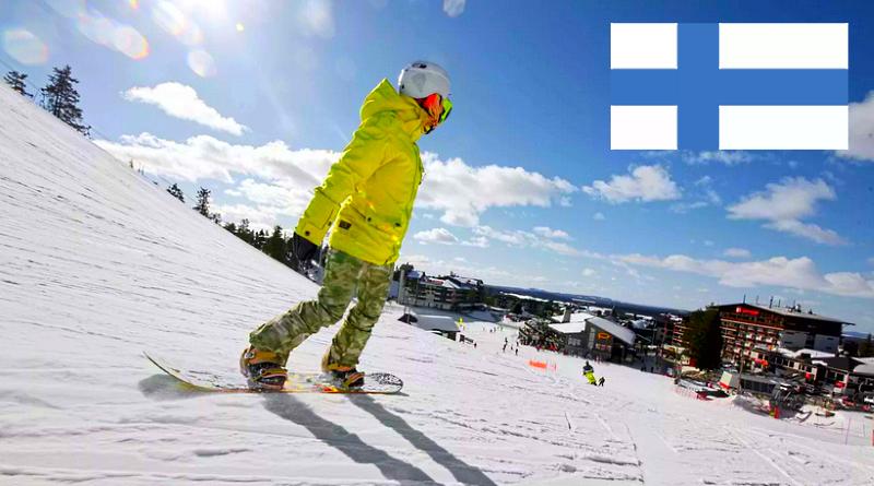 Курорт горнолыжные Финляндия