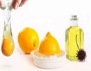 Масло+лимонный сок+яйца маска для рук