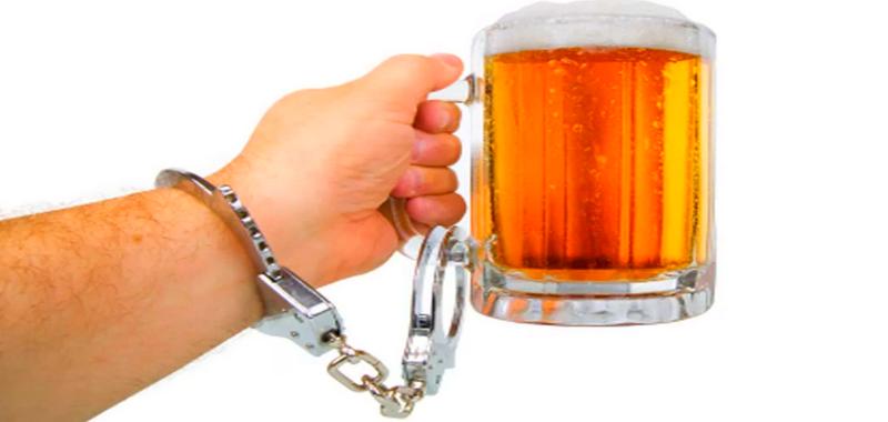 Пивной алкоголик