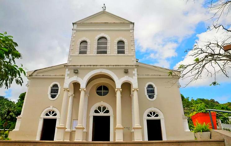 Сейшельские острова, остров Маэ, столица Виктория, храм английский