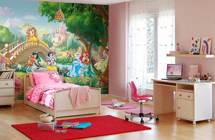 Сказочный интерьер девочкиной комнаты