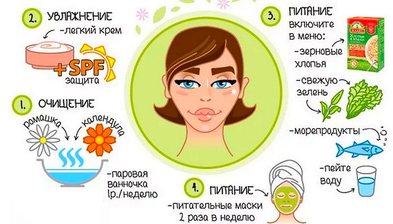 Советы по уходу за кожей лица
