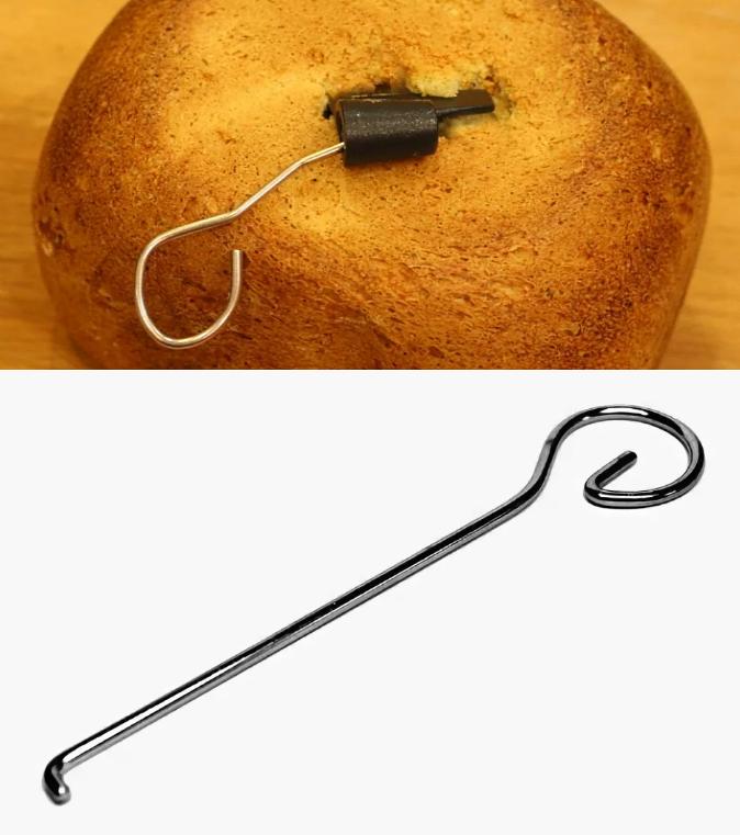 Какие месильные крючки выбрать и сколько - хлебопечка