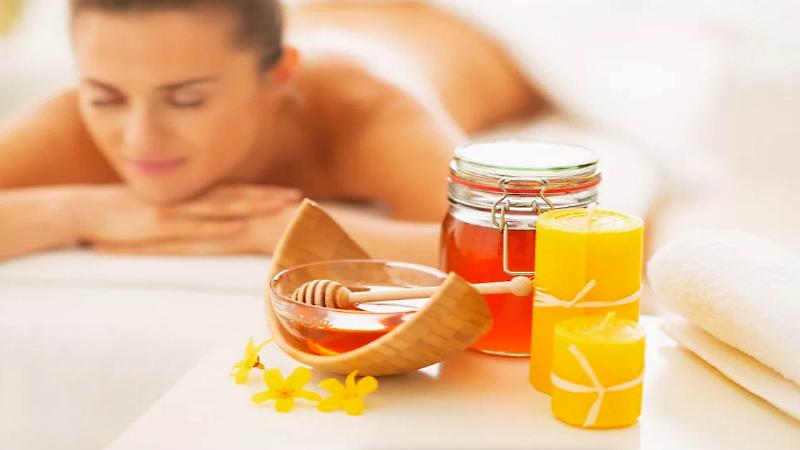 Обертывание с мёдом