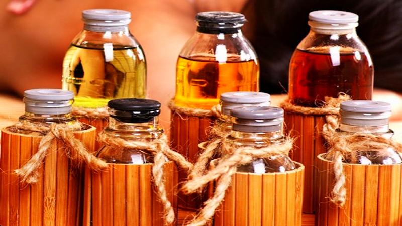Обертывание с эфирными маслами
