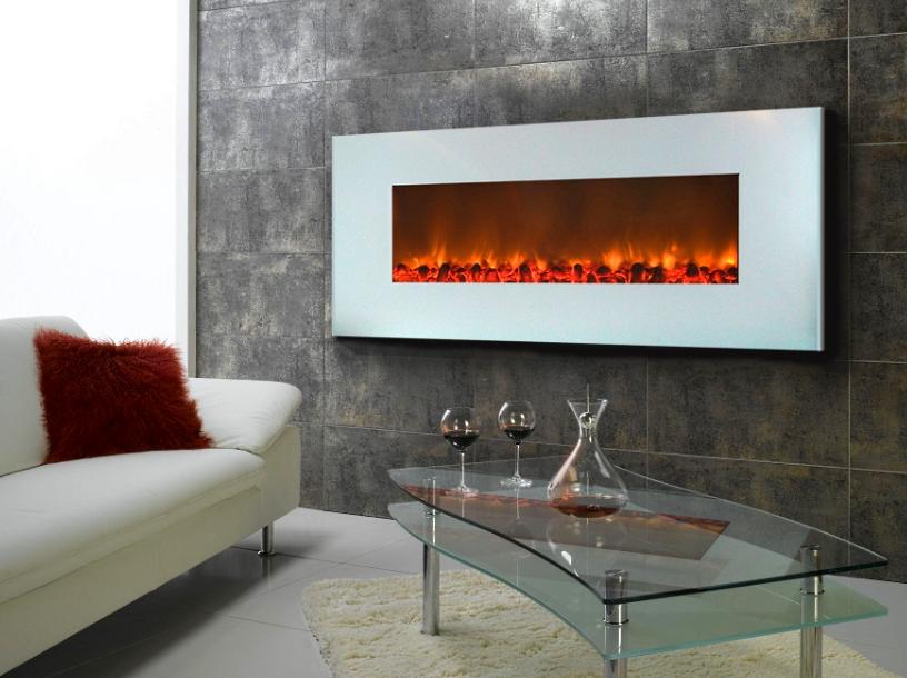 камины для дома электрические в интерьере гостиной фото