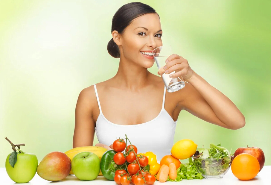 Правильное питание для увеличения груди у девушки