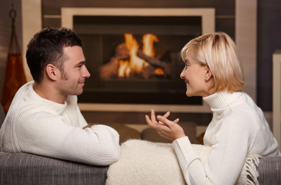 Разговор в паре, хороший знак