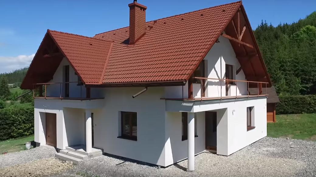 Фото 10 - утепление дома при помощи графитового пенопласта