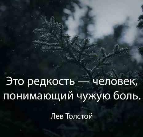 Лев Толстой про боль